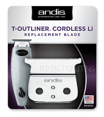 Andis Cordless T-Outliner Trimmer Blade Set #04535 Model ORL Replace NEW! #74000