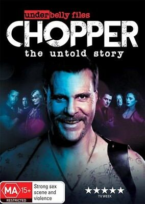 Underbelly Files : CHOPPER - The Untold Story : NEW DVD