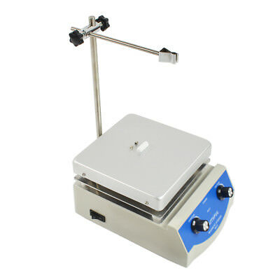 SH-3 220V Hotplate Magnetic Stirrer With 17x17cm Hotplate and Stirrer Anodised
