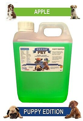 Fresh Pet Pet Disinfectant Cleaner Puppy Edition - 2L Apple