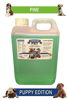 Fresh Pet Pet Disinfectant Cleaner Puppy Edition - 2L Pine