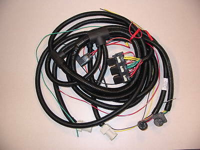 hiniker snow plow 4 function wiring harness underhood clc sure seal 38813034