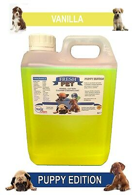 Fresh Pet Pet Disinfectant Cleaner Puppy Edition - 2L Vanilla