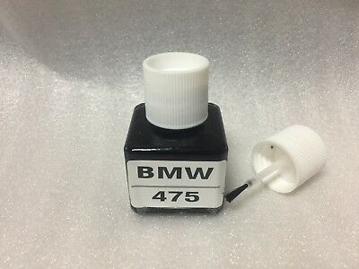 FOR BMW Touch Up Paint Color Code # 475 Black Metallic