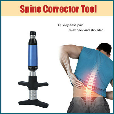 Chiropractic Adjusting Tool Gun Therapy Spine Orthopaedic Correction Massager UK