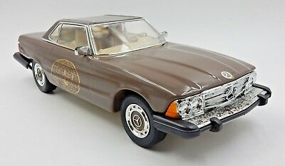 Vintage 1974 Mercedes 450Sl Hardtop Iajbbsc Logo Jim Beam Decanter ~ Empty