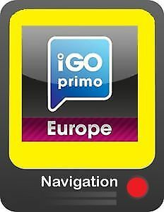 IGO PRIMO 9 Navigation Software Car+Truck+Camper Cards April 2018
