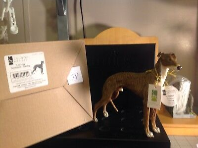 """Country Artists Greyhound-Standing CA2450 Resin 5"""" tall"""
