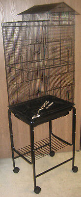 """63"""" New Large Tall Canary Parakeet Cockatiel Lovebird Finch Bird Cage Stand 250"""