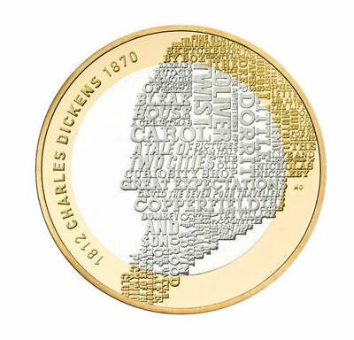 *** Minting Error!!!!! *** 2012 £2 CHARLES DICKENS 200 ANNIVERSARY TWO POUND