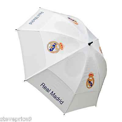 Brand New Real Madrid Fc Double Canopy Golf Umbrella.