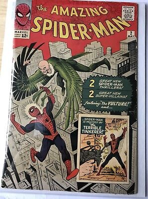 Amazing Spider-Man #2 First Appearance Of The Vulture