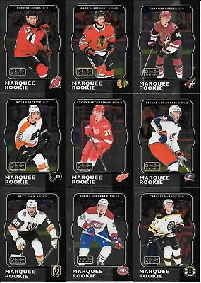 U PICK EM LOT 2017-18 17-18 O-Pee-Chee OPC Platinum Retro RC set cards #R66-R100