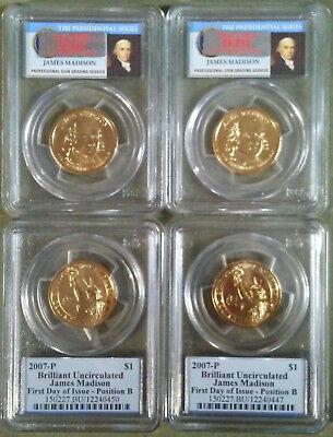 4 Slabbed BU Dollar Coins SEIZED by SECRET SERVICE in $17M Fraud. Special Price!