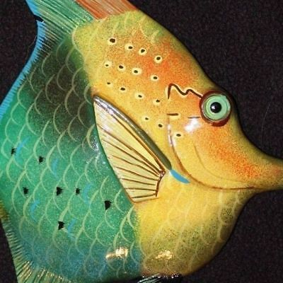(1), Seafood Restaurant Tropical Fish Wall Art, 8 inch, 3-D, Realistic, #116
