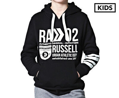 Russell Athletic Boys' Department Hooded Sweat - Black