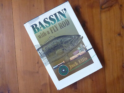 """Fishing Book """"Bassin' with a Fly Rod"""""""