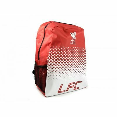 Liverpool FC Official Football Fade Design Backpack/Rucksack (BS493)