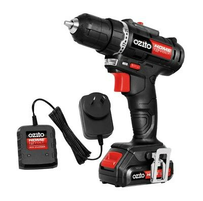 Ozito Home 12V Drill Driver Kit