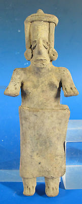 Pre-Columbian Jalisco Style Statuette Figure After Mexico 300 BCE-300 CE #20 yqz