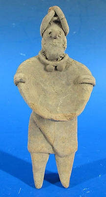 Pre-Columbian Jalisco Style Statuette Figure After Mexico 100 - 800 CE #19 yqz