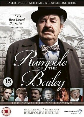Rumpole of the Bailey Complete 7 Series 1 2 3 4 5 6 7 Season Collection DVD R4