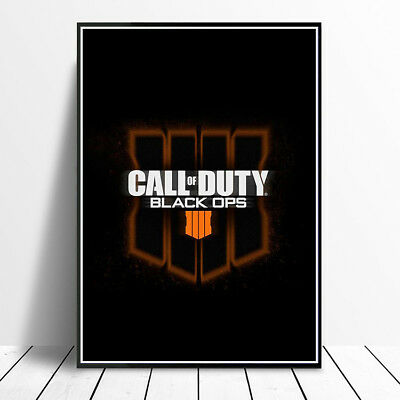 Call Of Duty Black Ops 4 Iv Poster Print Picture A4 A3 Glossy Print Ps4 Xbox One