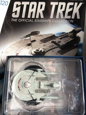 STAR TREK Official Starships Magazine #120 U.S.S. Bozeman NCC-1941 Eaglemoss eng