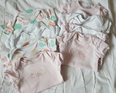baby girl vests 3-6 months