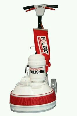 Polivac PV25 Suction Polisher With Pad Holder. FREE SHIPPING