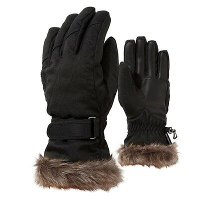 Ziener - Kim lady glove - black-stru.
