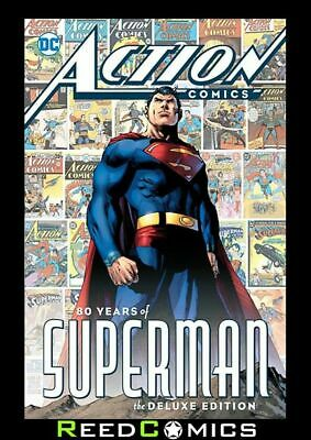 ACTION COMICS 80 YEARS OF SUPERMAN HARDCOVER (384 Pages) New Hardback