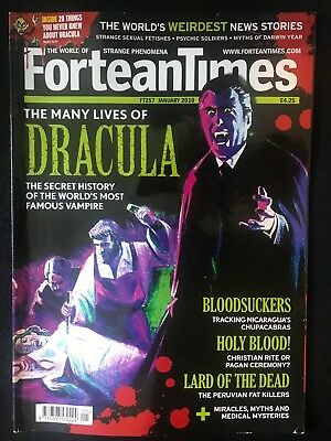 Fortean Times collectible back issues -Jan 2010 - FT257 - FREE P&P