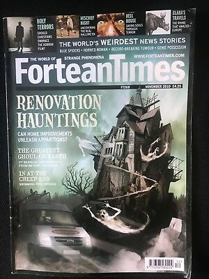 Fortean Times collectible back issues -Nov 2010 - FT268 - FREE P&P