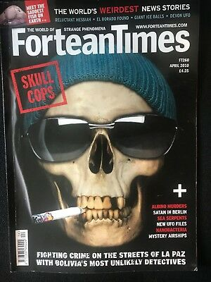 Fortean Times collectible back issues -April 2010 - FT260 - FREE P&P