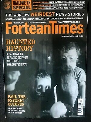 Fortean Times collectible back issues - Nov 2012 - FT294 - FREE P&P