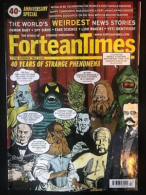 Fortean Times - 40th Anniversary Special - Dec 2013 - FT308 - FREE P&P