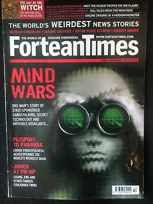 Fortean Times collectible back issues - Sept 2013 - FT305 - FREE P&P