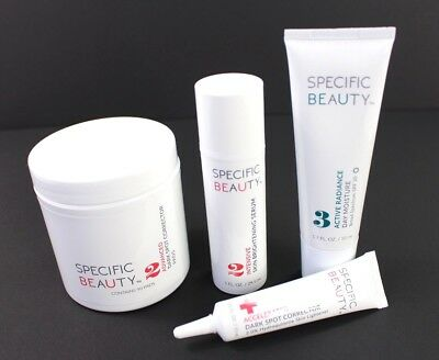 NEW Kit SPECIFIC BEAUTY Live Even Essentials 90 Day DARK SPOT CORRECTOR KIT