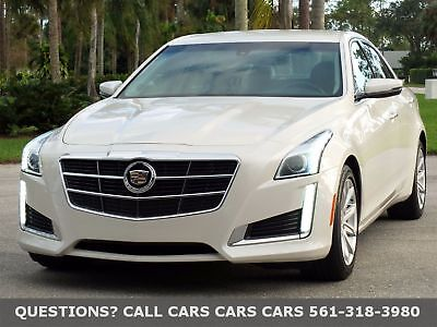 Cadillac CTS Sedan 2.0 TURBO-ONLY 10650  MILES-LIKE 15 16 FLORIDA IMMACULATE-1-OWNER-BOSE-NAV-PEARL-FREE AUTOCHECK-ABSOLUTELY NONE NICER