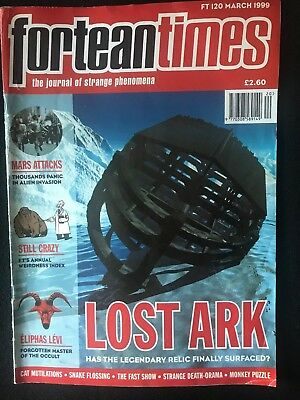 Fortean Times collectible back issues - March 1999 - FT120 - FREE P&P