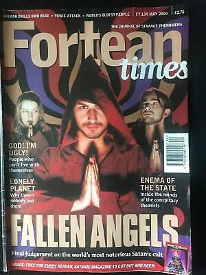 Fortean Times collectible back issues - May 2000 - FT134 - FREE P&P