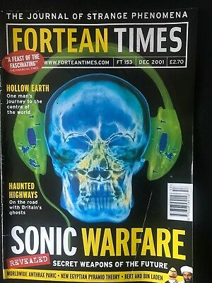 Fortean Times collectible back issues - Dec 2001 - FT153 - FREE P&P