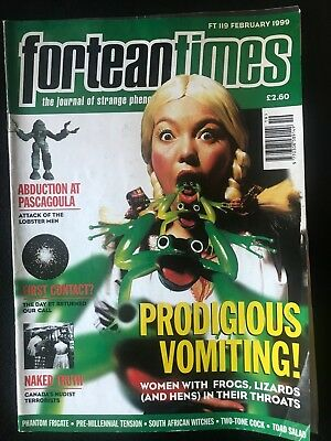 Fortean Times collectible back issues - Feb 1999 - FT119 - FREE P&P