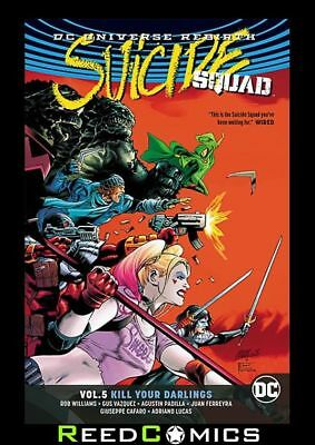 SUICIDE SQUAD VOLUME 5 KILL YOUR DARLINGS GRAPHIC NOVEL Collects (2016) #21-25