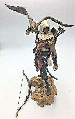 Assassins Creed Bayek Protector Of Egypt Figure Broken Needs Repair On Eagle