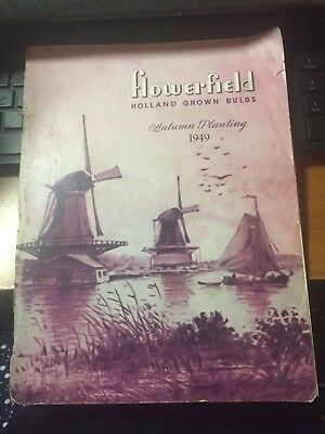 1949 Flowerfield Holland Grown Bulbs Autumn Planting Catalog Li Ny