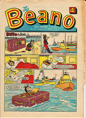 BEANO # 1411 August 2nd 1969 the Comic