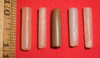 (5) Sahara Neolithic Plugs/Labrets, Prehistoric African Artifacts