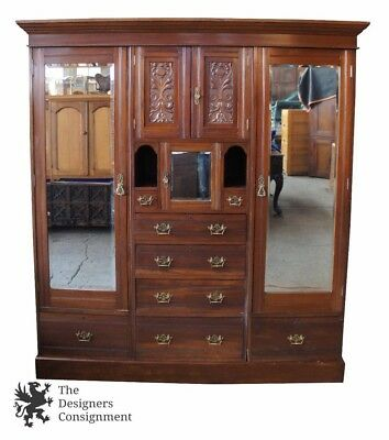 1800 1899 Armoires Amp Wardrobes Furniture Antiques